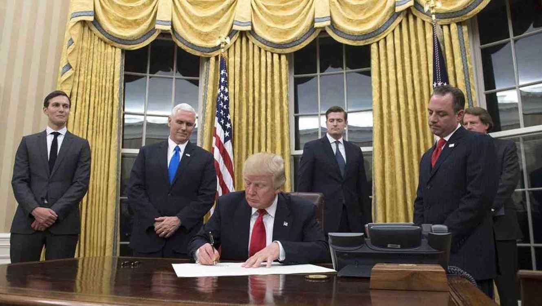 El Presidente Trump