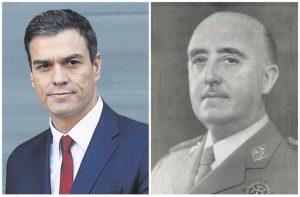 Los cien días de Sánchez y Franco