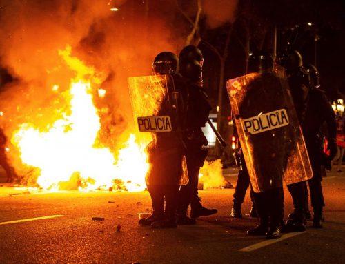 Cataluña en llamas