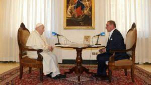 El Papa y Herrera en COPE